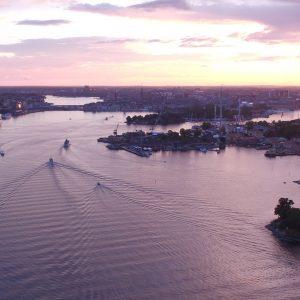 Flygfoto av Stockholm - ARROWCAM
