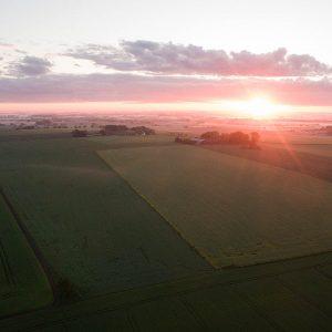 Flygfoto av Glumslöv - ARROWCAM