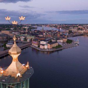 Flygfoto av Stadshuset - ARROWCAM